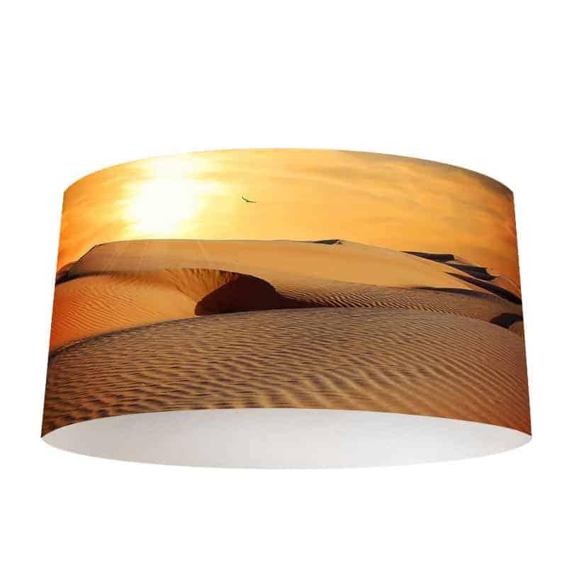 Lampenkap In de woestijn