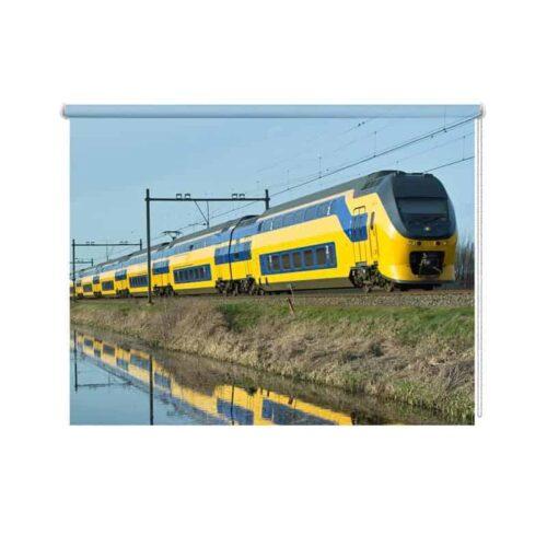 Rolgordijn NS trein