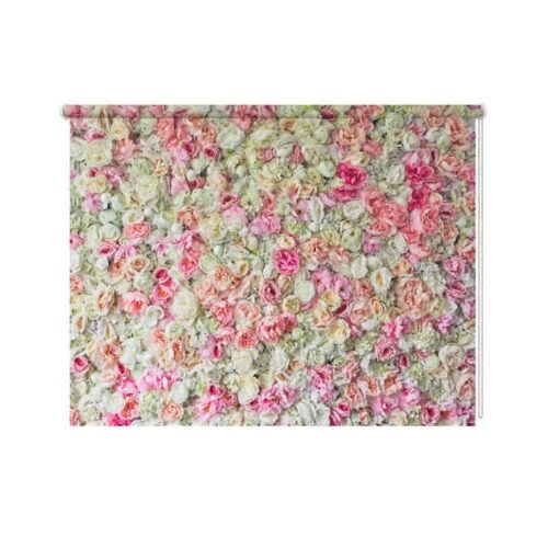 Rolgordijn Op rozen