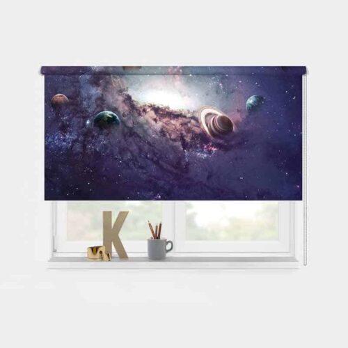 Rolgordijn universum
