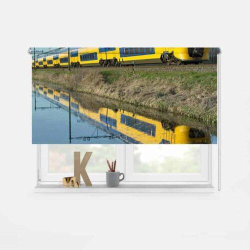 Rolgordijn NS trein 1