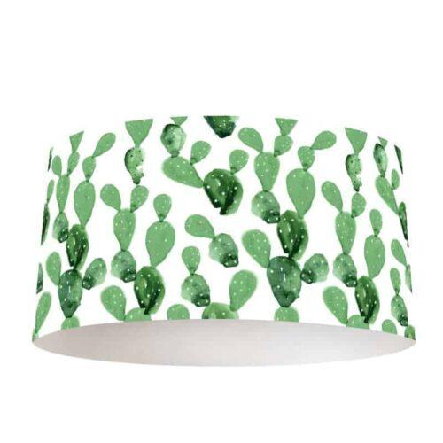 Lampenkap cactus patroon