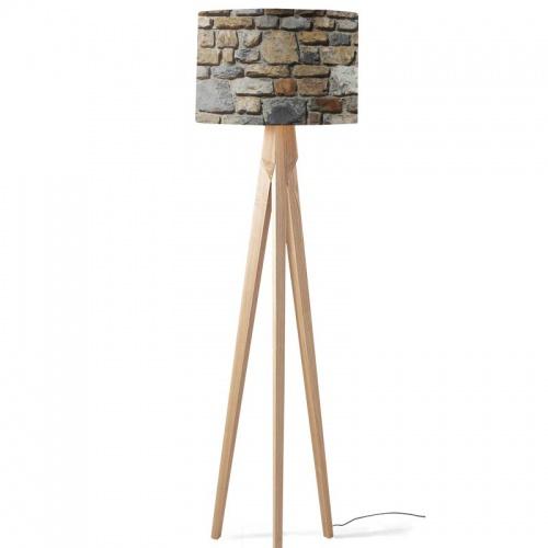 Lampenkap Stenen muur patroon 2