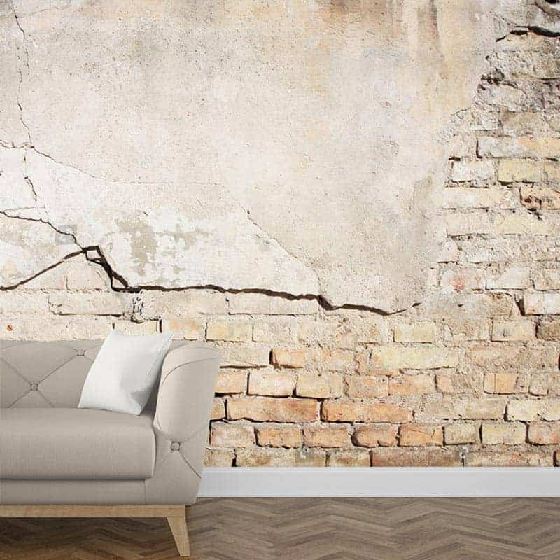 Fotobehang baksteen patroon 2
