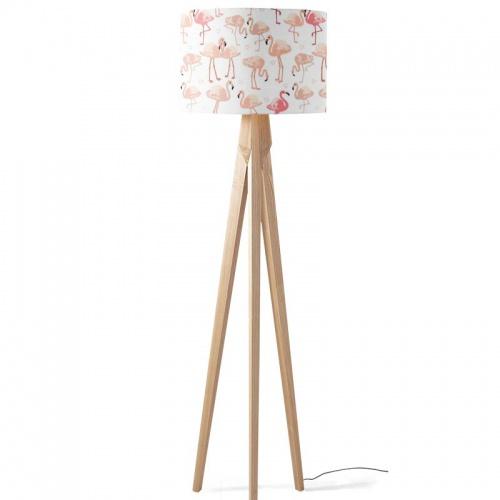 Lampenkap Flamingo patroon 4