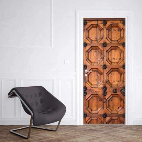 Deursticker Portugese deur