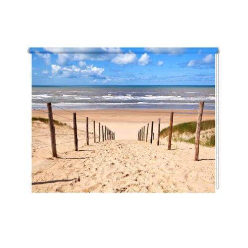 rolgordijn strand