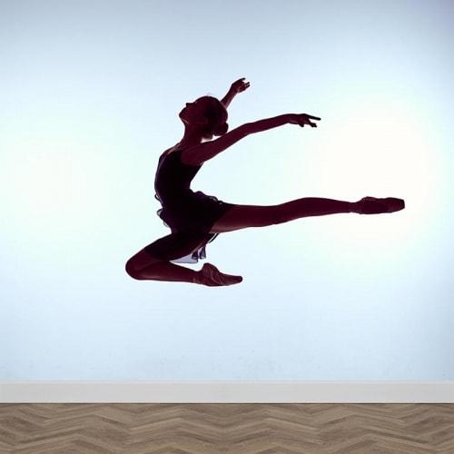 Fotobehang ballet danseres