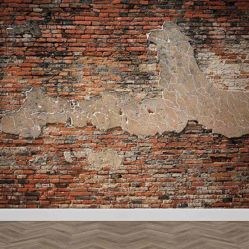 Fotobehang baksteen patroon 6Fotobehang baksteen patroon 6