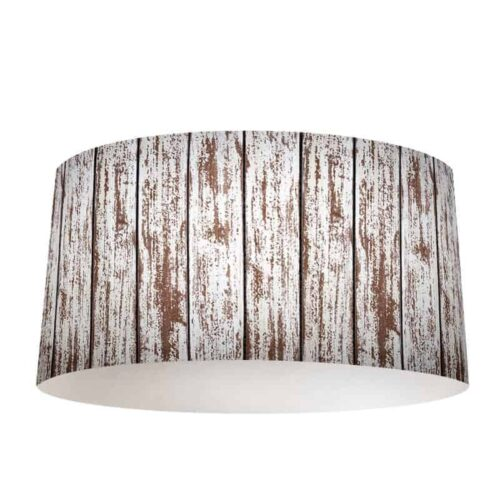 Lampenkap hout patroon