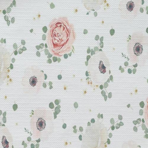 Tafelkleed Rozen aquarel patroon