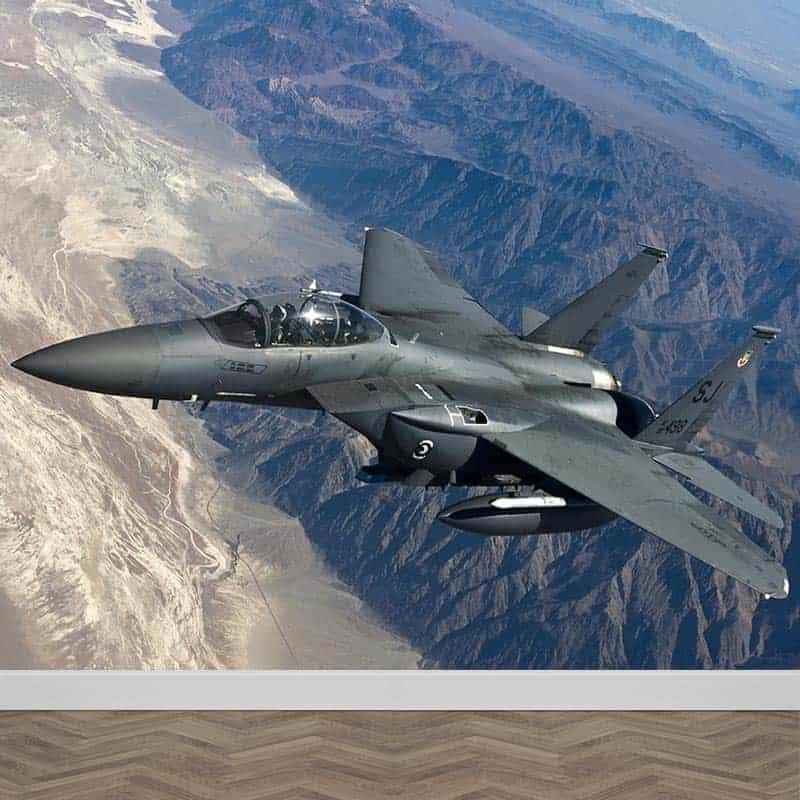 Fotobehang F15 straaljager