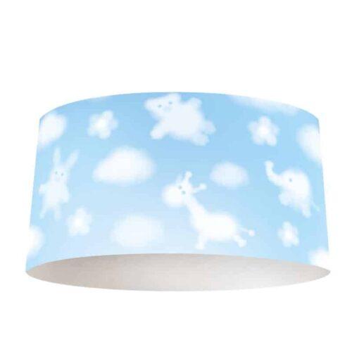 Lampenkap dieren in de wolken