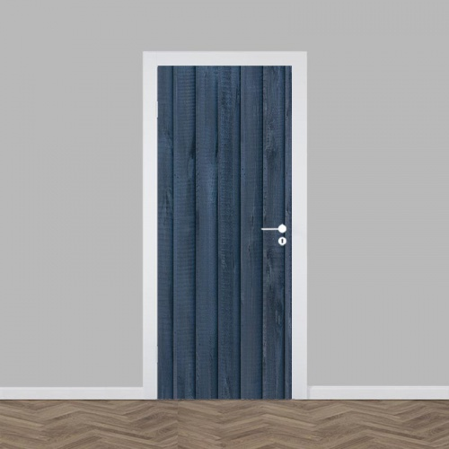 Deursticker hout patroon 11