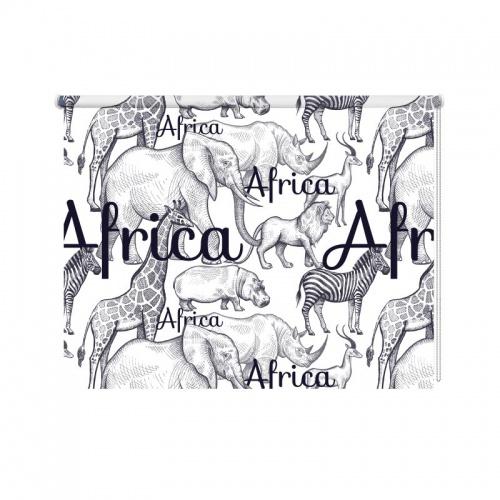 Rolgordijn Wild Africa