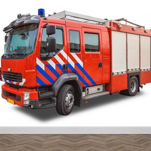 Fotobehang brandweerwagen NL