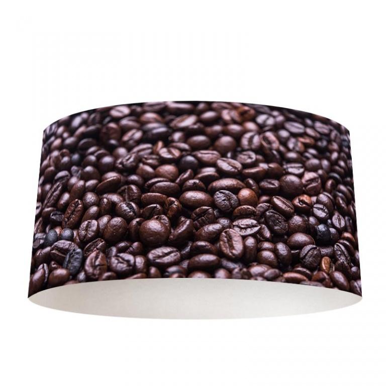 Lampenkap koffiebonen