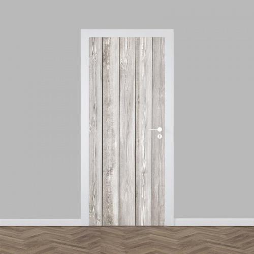 Deursticker hout patroon 9