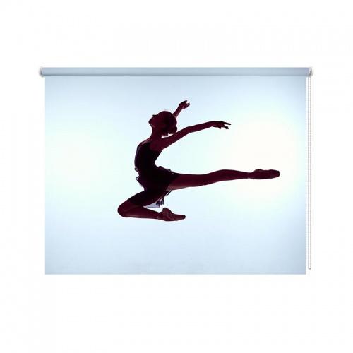 Rolgordijn ballet danseres