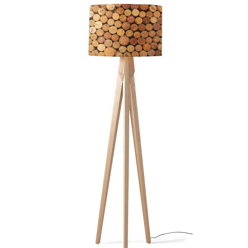 Voorkeur Lampenkap Kurken op een rij. Voor jou op maat gemaakt. YouPri.nl BP92