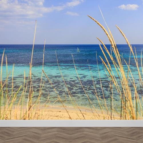 Fotobehang Kijk de zee