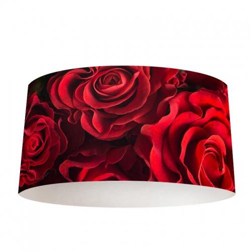 Lampenkap Rode rozen