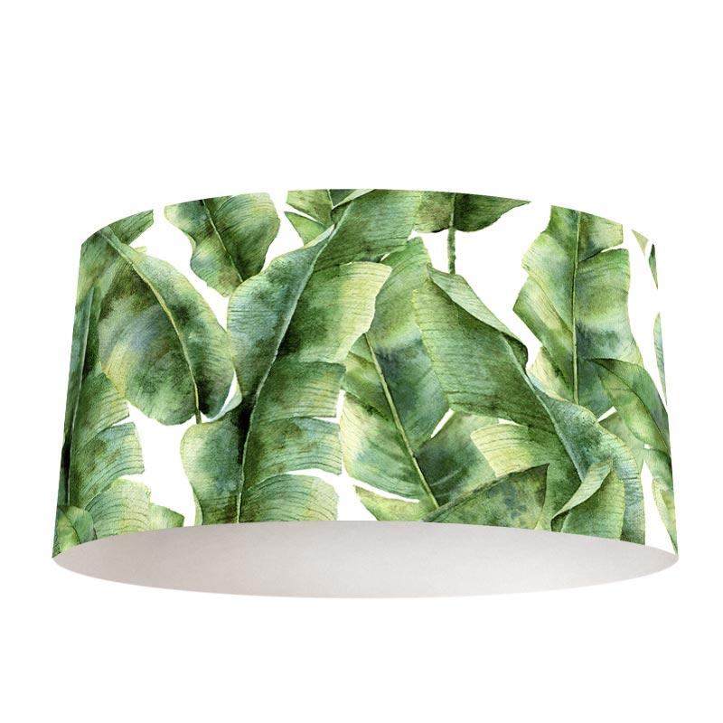 Lampenkap Tropische bladeren patroon 5
