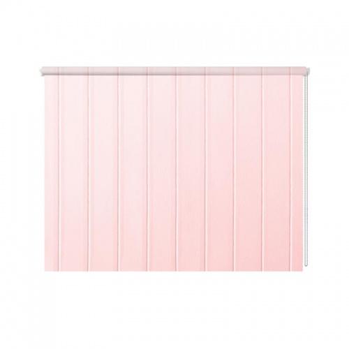 Rolgordijn Roze planken