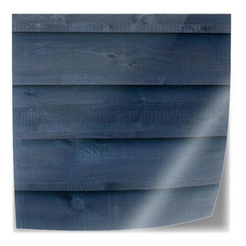 Tafelsticker Hout patroon donkerblauw liggend