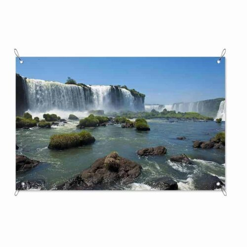 Tuinposter Waterval XL