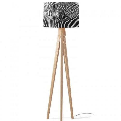Lampenkap zebra