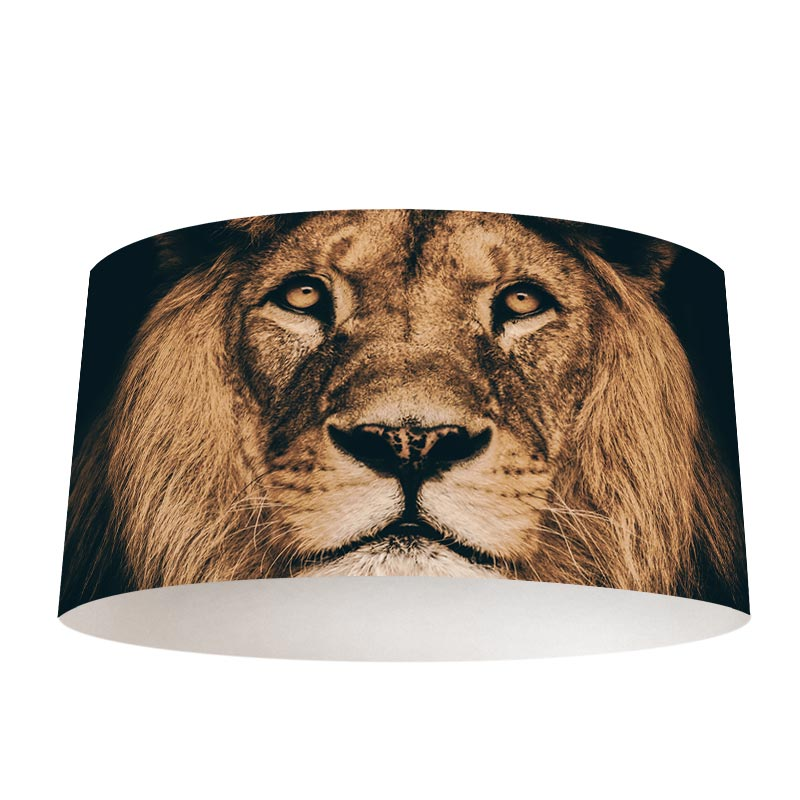 Lampenkap Leeuwenkop