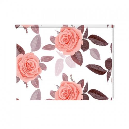 Rolgordijn-rozen-patroon-3