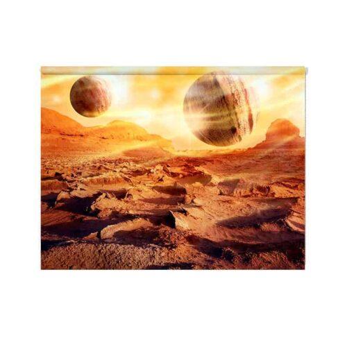 Rolgordijn Planeten
