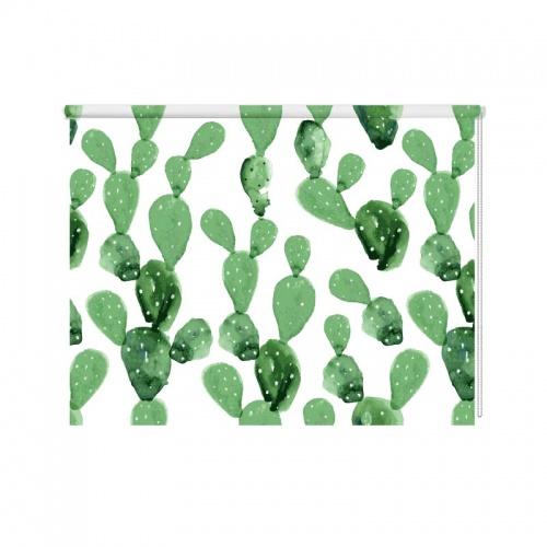 Rolgordijn Cactus patroon 2