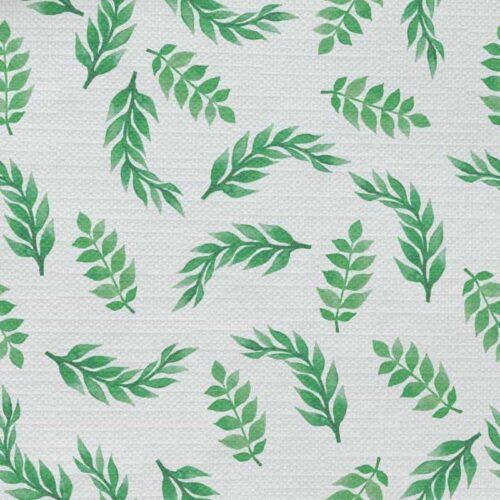 Tafelkleed Groene takjes aquarel patroon