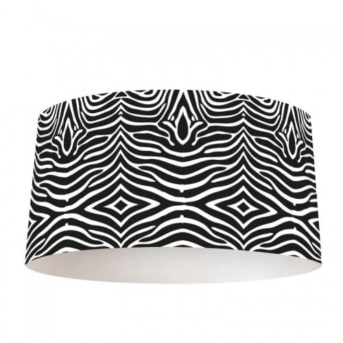 Lampenkap zebra print
