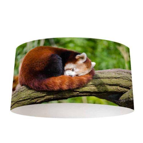 Lampenkap Rode pandabeer