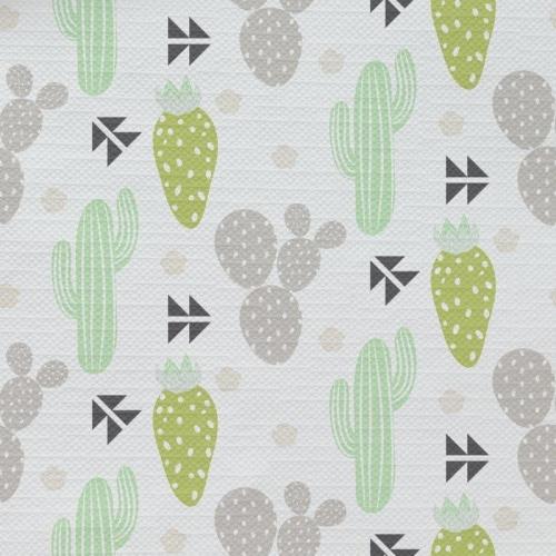 Tafelkleed Cactus pastel patroon