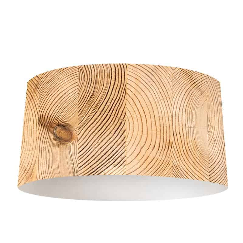 Lampenkap houtnerf 2