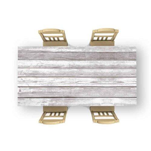 Tafelsticker Hout patroon 14