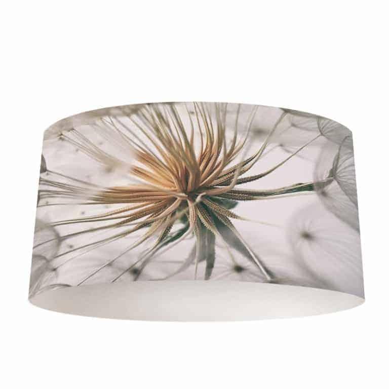 Lampenkap Dandelion wit grijs