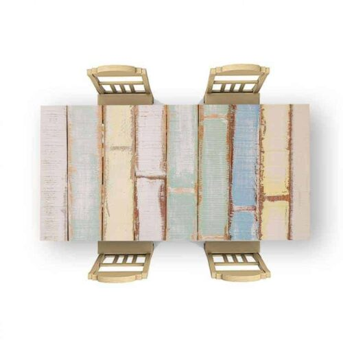 Tafelsticker Gekleurd hout 3