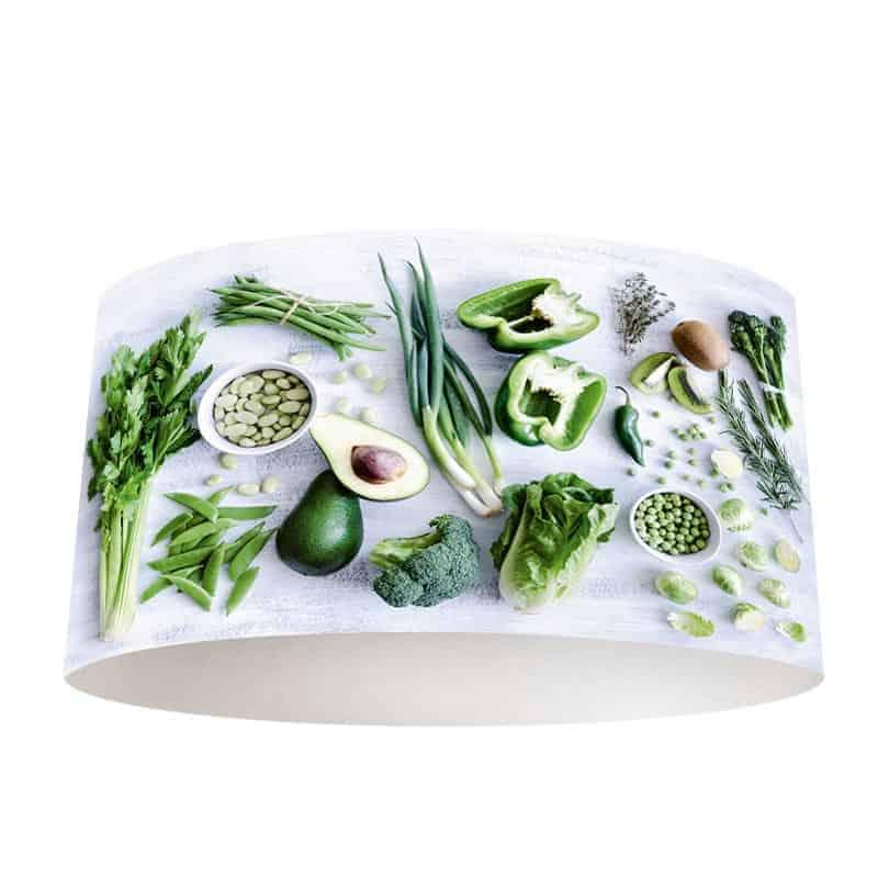 Lampenkap groenten en kruiden