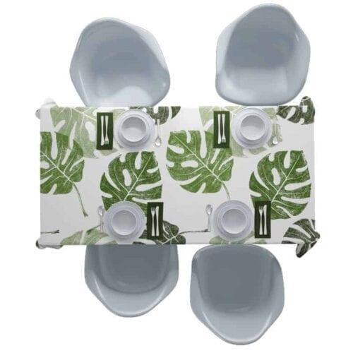 Tafelkleed Tropische bladeren patroon 1
