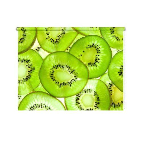 Rolgordijn Kiwi schijfjes