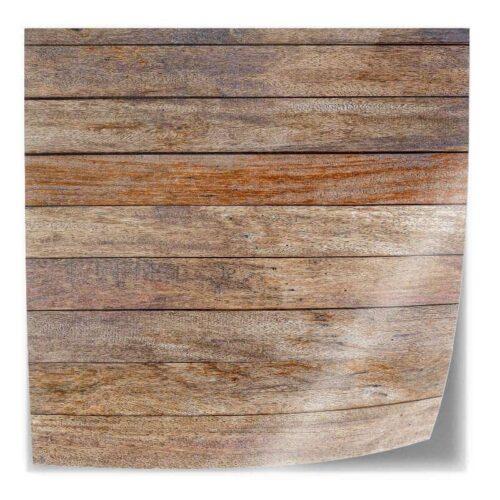 Tafelsticker Hout patroon antiek 2