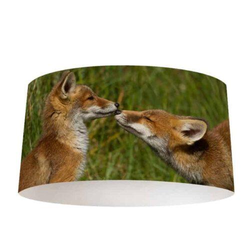 Lampenkap Spelende vosjes