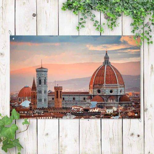 Tuinposter Italiaanse baseliek