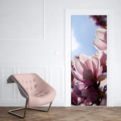 Deursticker Magnolia